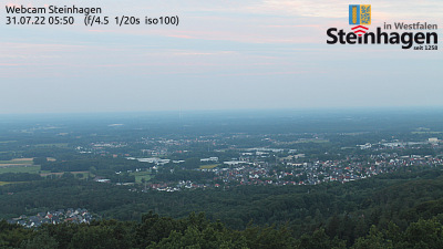 DB0BI Webcam Steinhagen